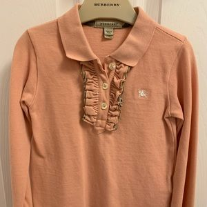 Burberry Long Sleeve - size 5Y